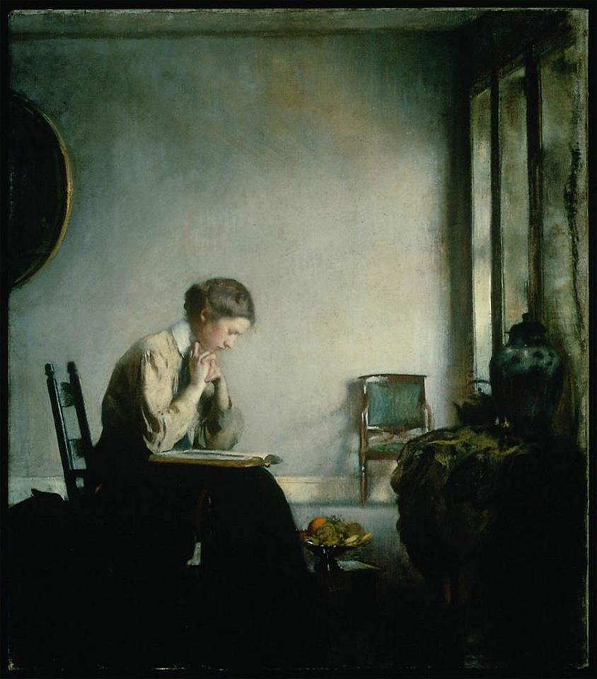 Girl Reading, 1909